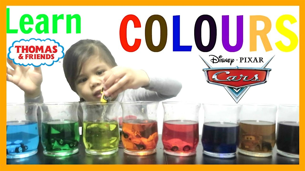 COLOR MIXING | Learn Colors With Food Coloring and Toys for Children,  Toddlers and Babies