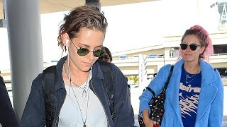 Kristen Stewart Is Asked About Her New Girlfriend Upon Flying Out Of LA