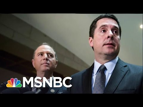 Adam Schiff Tells Chairman Devin Nunes To Recuse Himself From Russia Probe  The 11th Hour  MSNBC