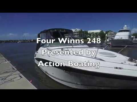 Four Winns V 248 for sale, Action Boating, boat sales, Gold Coast, Queensland, Australia