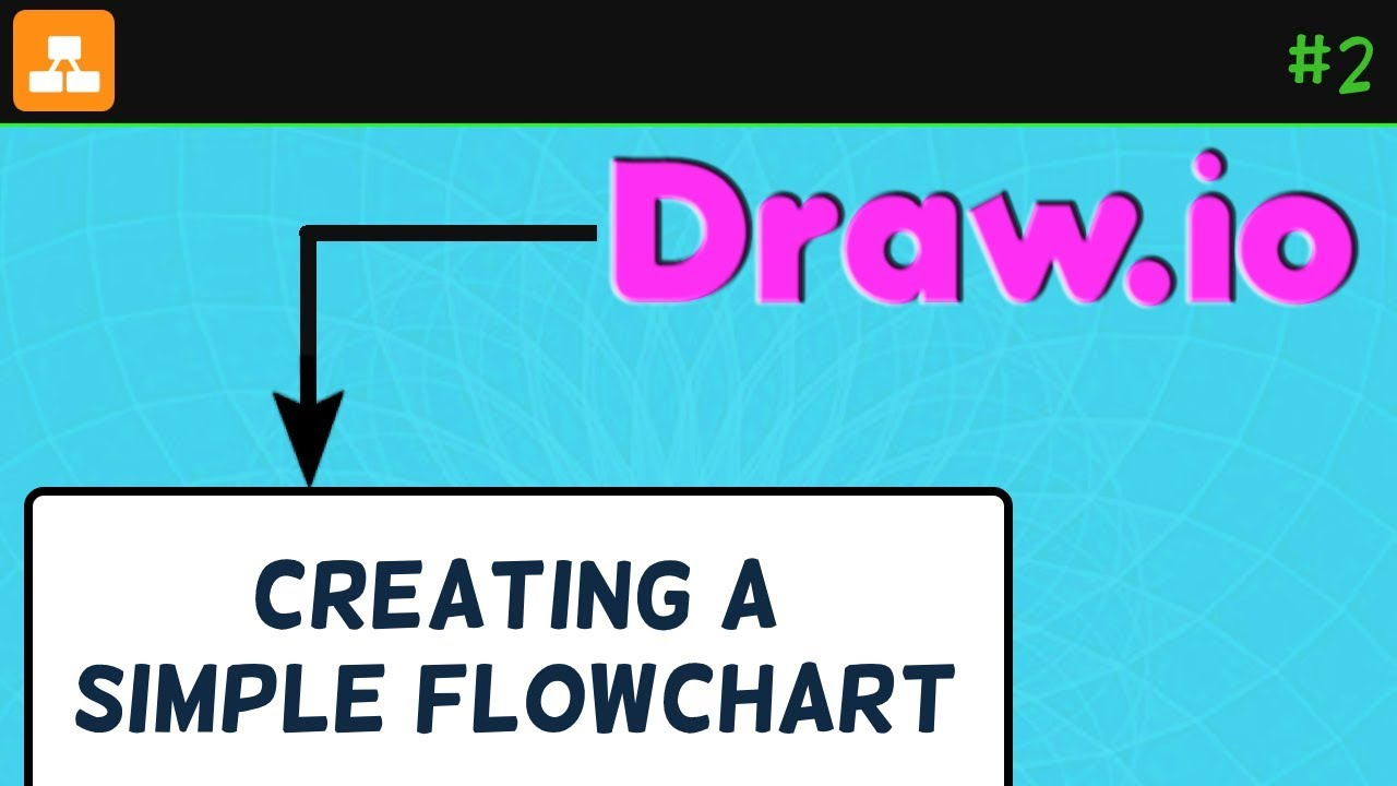 Creating A Simple Flowchart In Diagrams Net Draw Io Tutorial Youtube