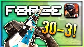 30-3 AK-47 GAMEPLAY IN URBAN?! | Bullet Force (Gameplay)