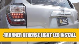 2010 - 2019 Toyota 4Runner LED Reverse Light Bulbs Change & Install