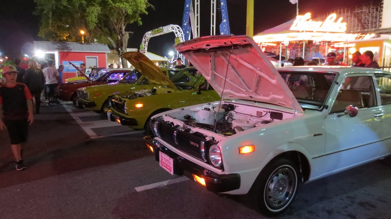 Old Town Kissimmee Florida Saturday Night Car Cruise YouTube - Kissimmee car show saturday