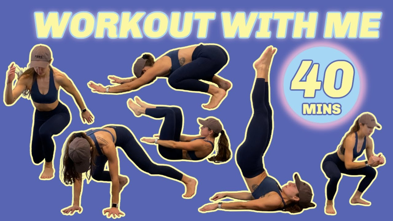 40 MIN TABATA HIIT | full body, no equipment, at home in real time