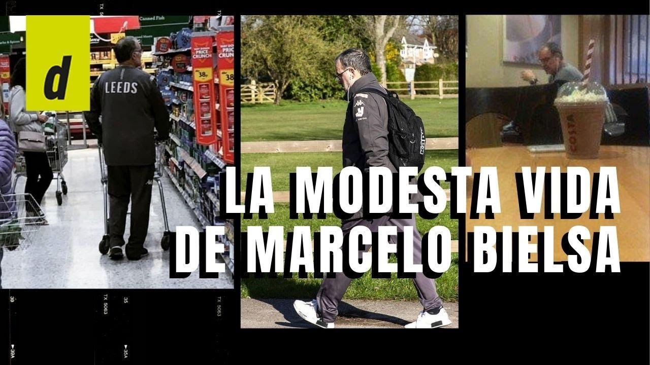 """""""Vive en una casa de abuelita"""", la modesta vida de Marcelo Bielsa en Leeds"""