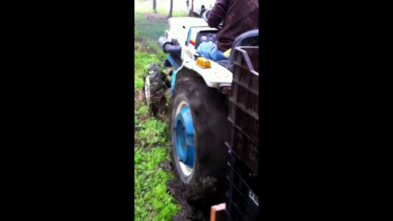 MITSUBISHI TRACTOR MT180 TD STUCK 4WD GREECE