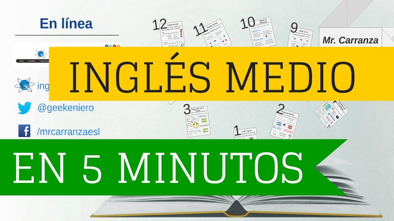 Curso de Inglés intermedio completo en 5 minutos \