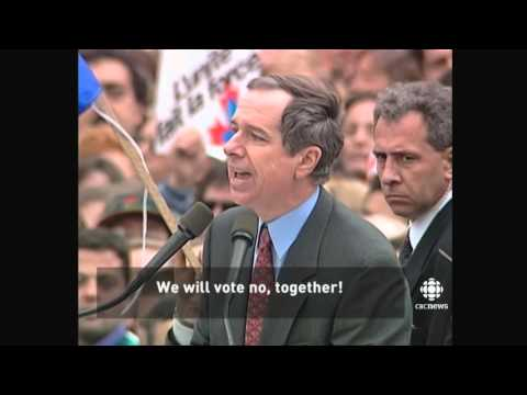 A look back at the 1995 Quebec Referendum in 60 seconds