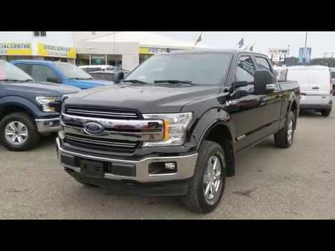 2018 Ford F-150 Lariat Diesel Walk-Around | Stock# FB40193A | Prince George Ford