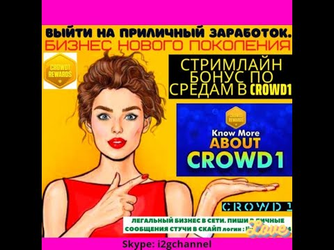 Crowd1 в цифрах доступно, без воды!