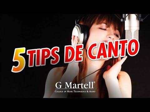 5 Tips para CANTAR MEJOR   Capsula G Martell