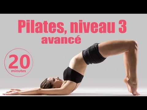 Pilates Niveau 3 avancé - Cours Fitness complet