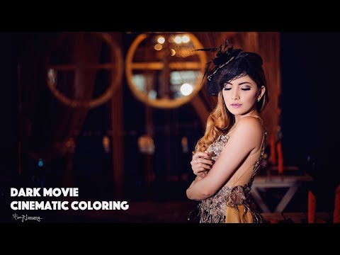 SImple Editing Cinematic Movie Coloring | Photoshop Tutorial thumbnail
