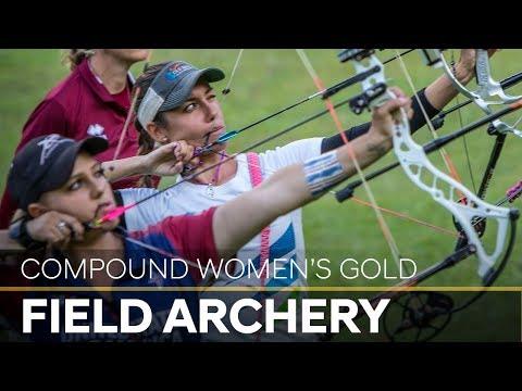 Toja Ellison v Paige Pearce  compound women's gold final |Cortina 2018