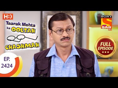 Taarak Mehta Ka Ooltah Chashmah - Ep 2424 - Full Episode - 15th March, 2018: Click here to subscribe to SonyLIV  : http://www.sonyliv.com/signin  Click here to watch full episodes of Taarak Mehta Ka Ooltah Chashmah:  http://www.sonyliv.com/details/show/4600324971001/Taarak-Mehta-Ka-Ooltah-Chashmah  More Useful Links : Also get Sony LIV app on your mobile Google Play - https://play.google.com/store/apps/details?id=com.msmpl.livsportsphone ITunes - https://itunes.apple.com/us/app/liv-sports/id879341352?ls=1&mt=8 Visit us at : http://www.sonyliv.com Like us on Facebook : http://www.facebook.com/SonyLIV Follow us on Twitter : http://www.twitter.com/SonyLIV  Episode 2424: ----------------------- Iyer tries every solution but it fails to remove the color from his face. Just when Iyer gives up, Tappu arrives and assures that he has a solution. But, Tappu's solution does not involve removing the color from his face, but instead using digital technology to do the job. Watch this episode to find out more.  About Taarak Mehta Ka Ooltah Chashmah: -------------------------------------------------------------------- The show is inspired from the famous humorous column 'Duniya Ne Undha Chasma' written by the eminent Gujarati writer Mr. Tarak Mehta. This story evolves around happenings in