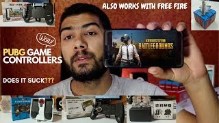 PUBG/FREE FIRE/FORTNITE mobile game controller & Trigger Switches in nepal [Nepali]
