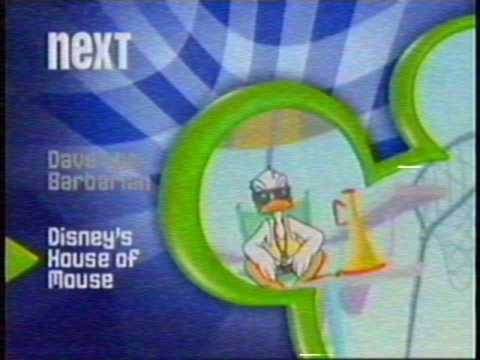 "Weird Disney Channel ""error"", April 2004 (totally real and rare, read description)"