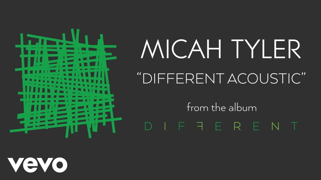 Micah Tyler - Different (Acoustic) [Audio]