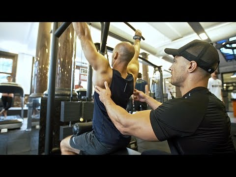 How To Build A Bigger Back | Full Workout With Client