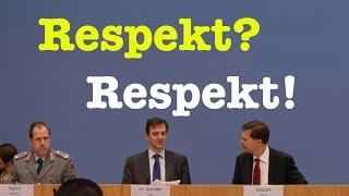 Respekt yourself! - Komplette Bundespressekonferenz vom 11. Januar 2017