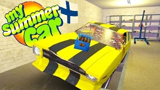 We own the yellow car and building a moped ramp in today's My Summe...