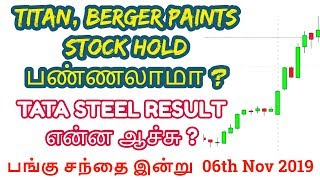 Important - Titan, Berger Paints | Stock Result Data| Tamil Share | Intraday Tamil Tips