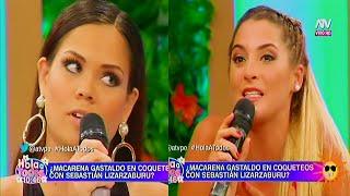 HOLA A TODOS 09/03/16 ANDREA SE PUSO CELOSA POR LA POSIBLE RELACIÓN DE SABASTIAN Y MACARENA