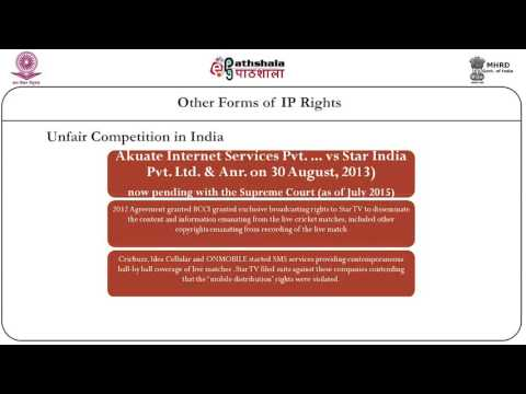 Other forms of IP rights