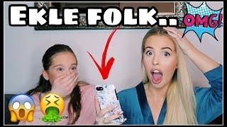 Leser Julie (13år) Sine Instagram DM'S - EKLE FOLK!!
