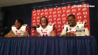 Utah returner Kaelin Clay explains his infamous Heisman pose at Michigan Stadium, talks about his co