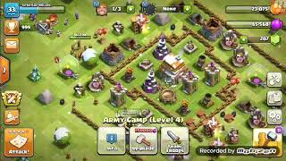 CLASH OF CLANS:how to use magical item (hammer of building) in clan war leagues
