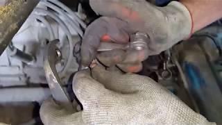 устранение скрипа в капоте при нажатии сцепления,регулировка педали сцепления сенс