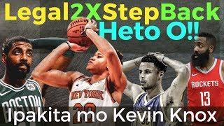 Harden, Kyrie & Steph, PINAKITAAN ng TUNAY at LEGAL na Double Step Back ni Kevin Knox