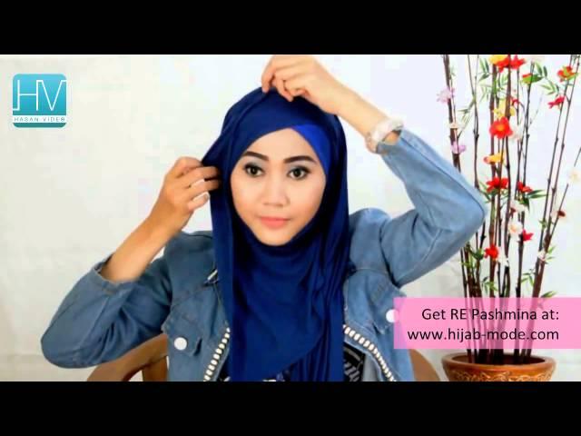 Mari Berhijab Tutorial Hijab Pashmina Ala Ria Ricis