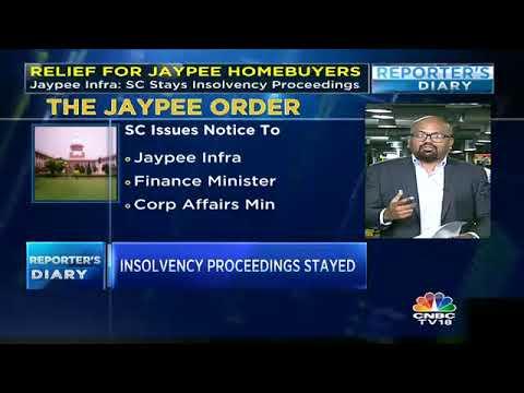 Jaypee Infra: SC Stays Insolvency Proceedings