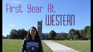 First year at Western University!
