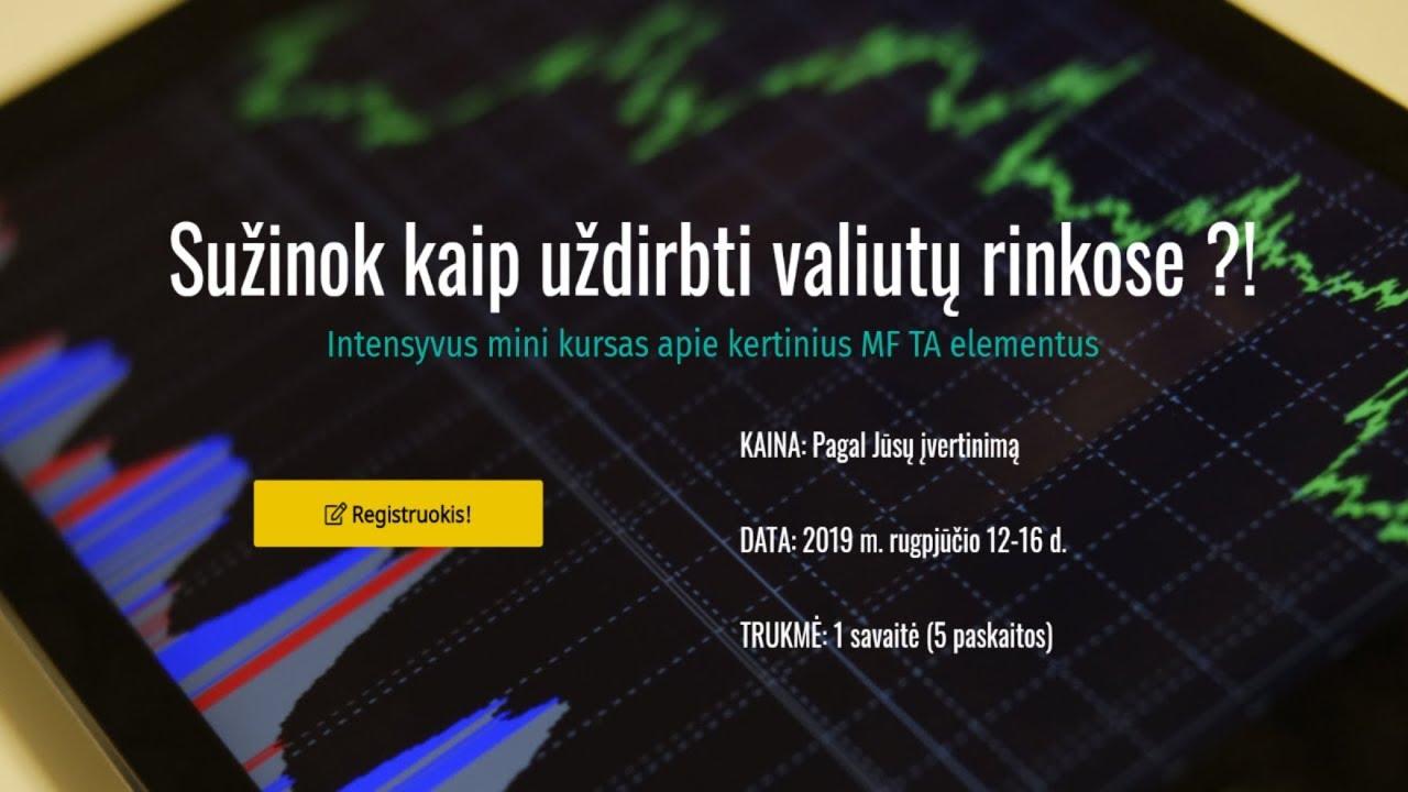 valiutos matuoklio prekybos sistema)