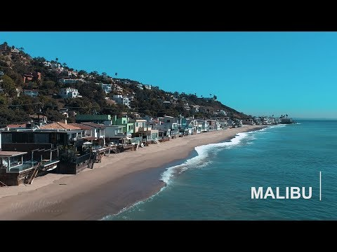 Malibu beaches dji phantom 4 pro