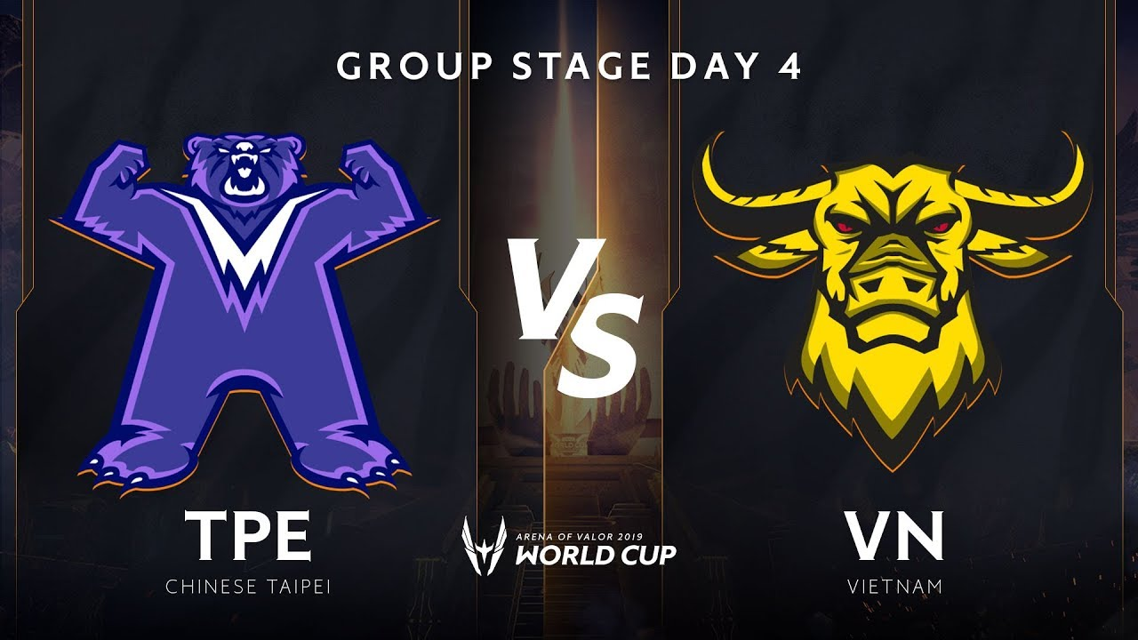 Việt Nam vs TPE - Bảng B - Vòng bảng giải đấu AWC 2019 - Garena Liên Quân Mobile