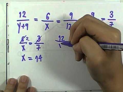 เลขกระทรวง พื้นฐาน ม.3 เล่ม1 : แบบฝึกหัด4.2ก ข้อ02