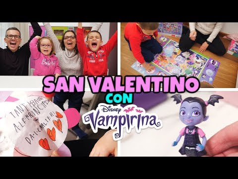 FESTEGGIAMO SAN VALENTINO con Vampirina