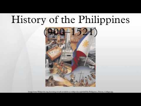 History of the Philippines (900–1521)