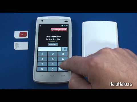 Alcatel OT 992D - Dual Sim dekodiranje pomoću koda