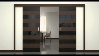 Profil Doors 2 open(Демонстрация открытия двери серии Z (Двойная раздвижная), 2014-05-03T12:50:08.000Z)