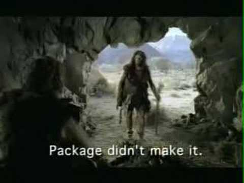 Fedex Caveman Super Bowl XL Commercial