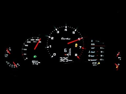 Porsche Panamera Turbo 2014 - acceleration 0-310 km/h, top speed test and more