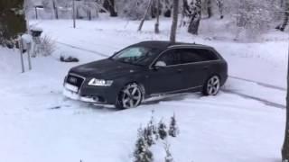 audi a6 snow test s line 3 0 tdi quattro 300 ps winter