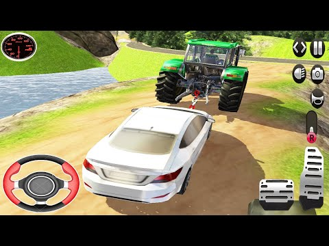 Real Cargo Tractor Pulling Simulator - Offroad Chained Truck Towing Rescue - Android GamePlay 2021