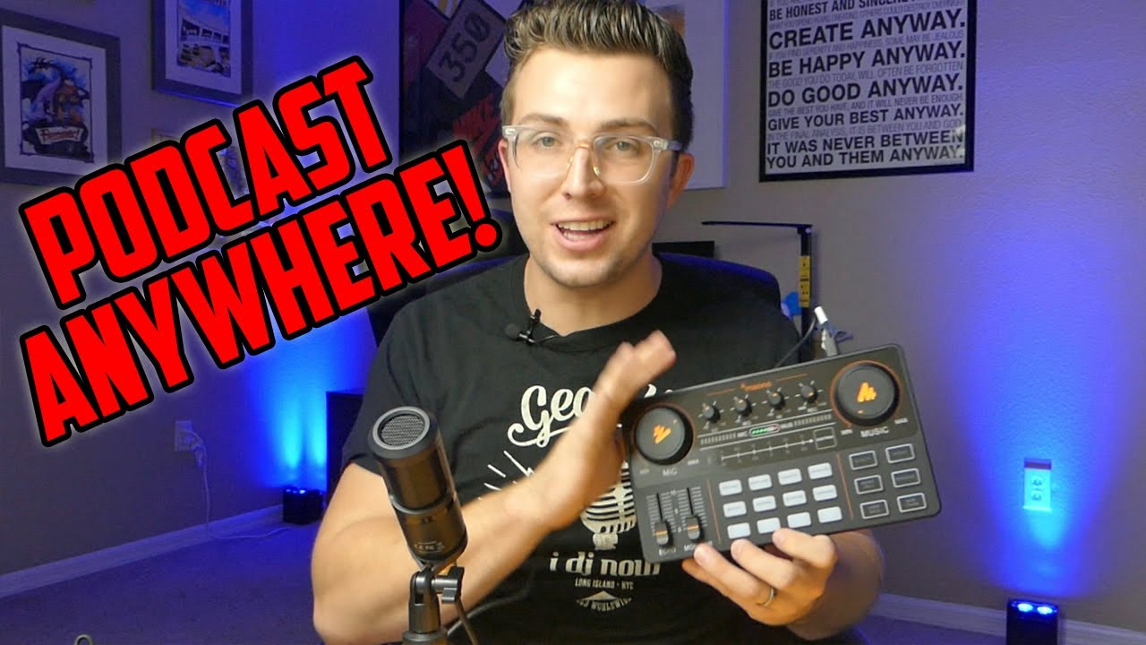 Download Maonocaster Lite Review | All-In-One Podcasting Interface